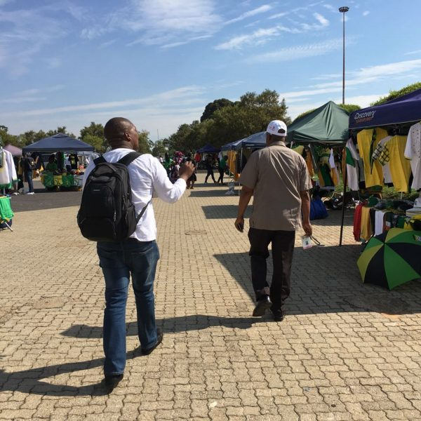 ANC CONFERENCE: Police manhandle a journalist at Nasrec