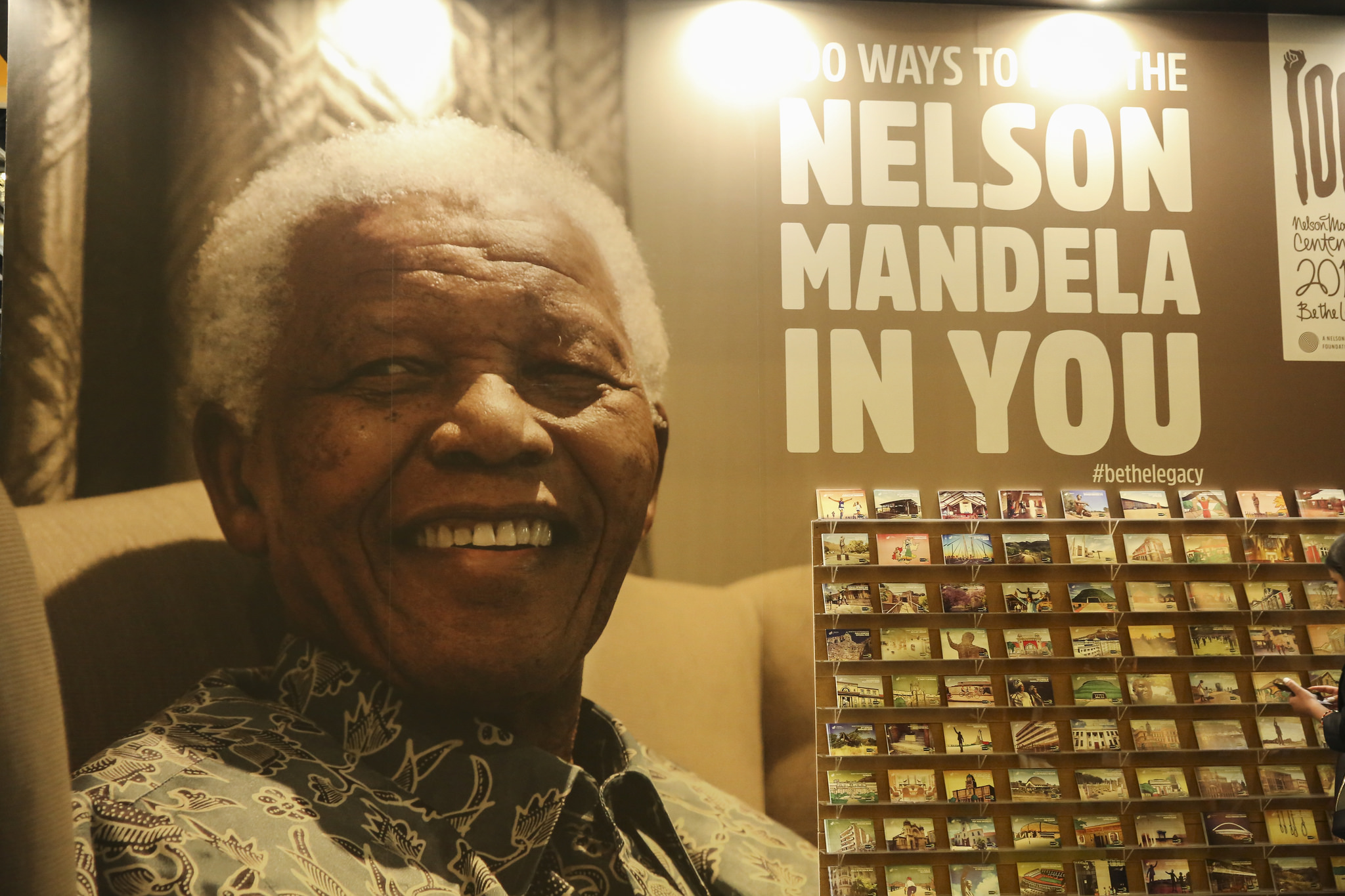 100 Ways to find Nelson Mandela in you