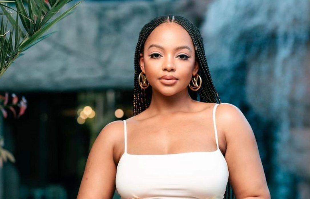 Man threatens to shoot Mihlali Ndamase at petrol station