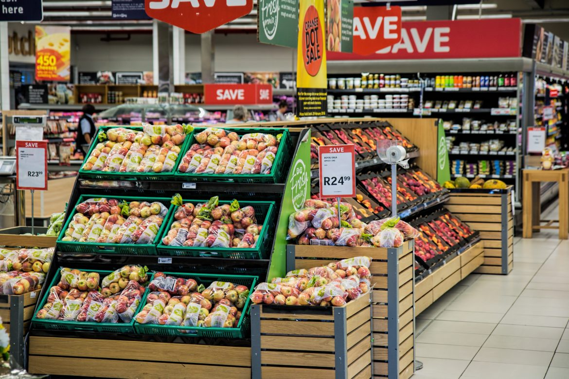 Grocery store South Africa