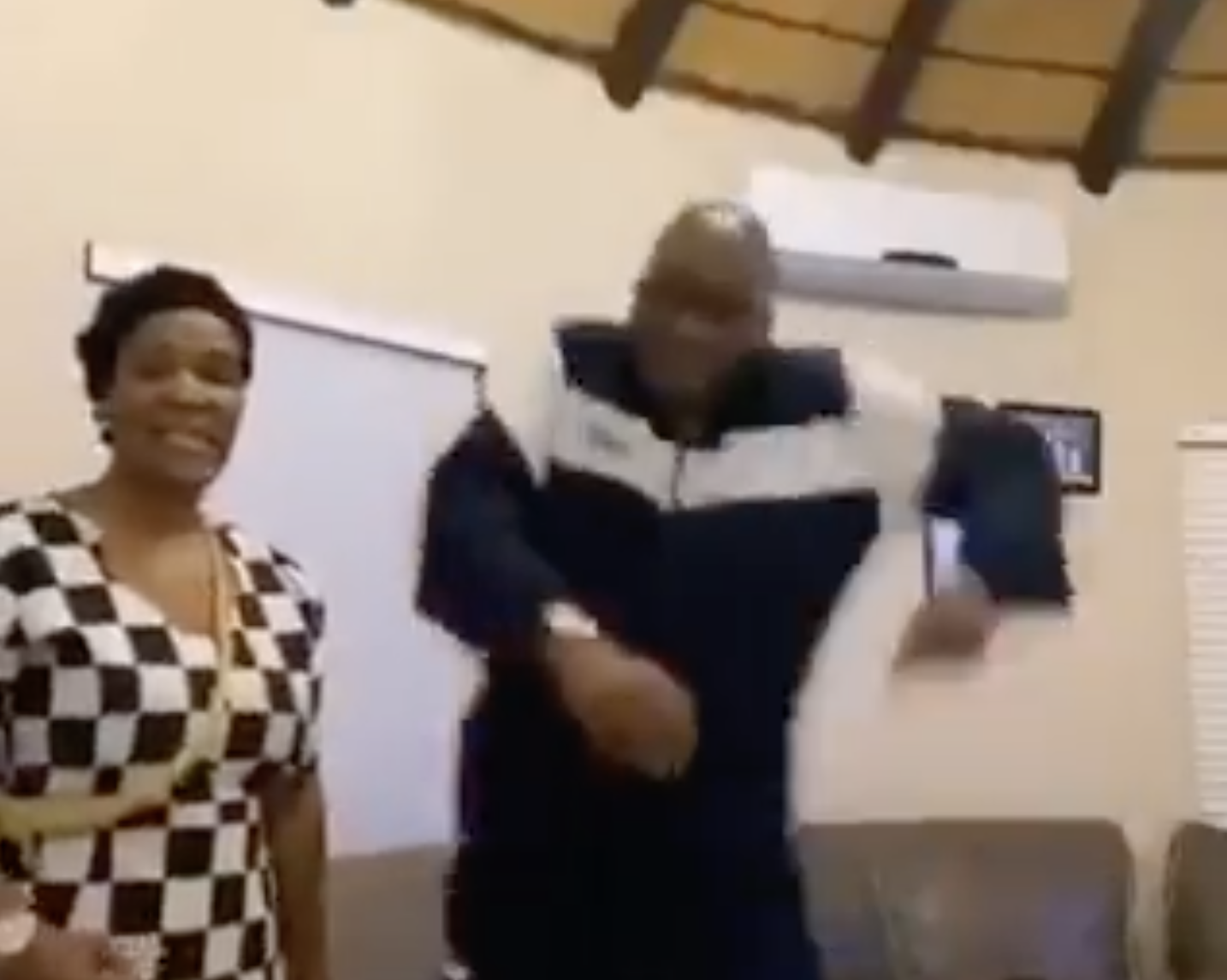 WATCH: Good times in Nkandla!!! Former President Zuma is ready to join Tik Tok