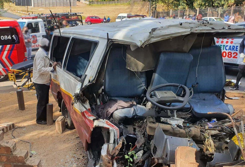 Taxi crash accident