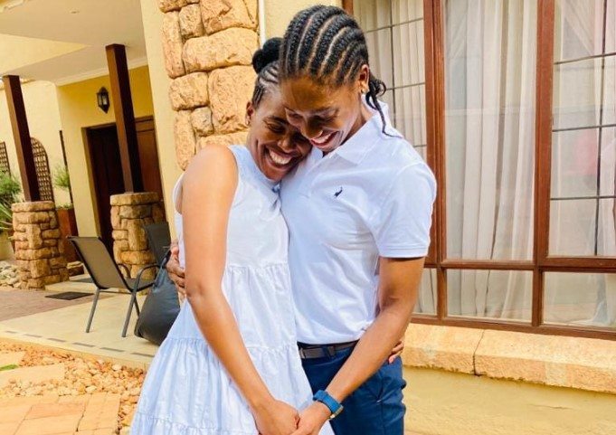 Caster Semenya and Violet Raseboya expecting baby number two