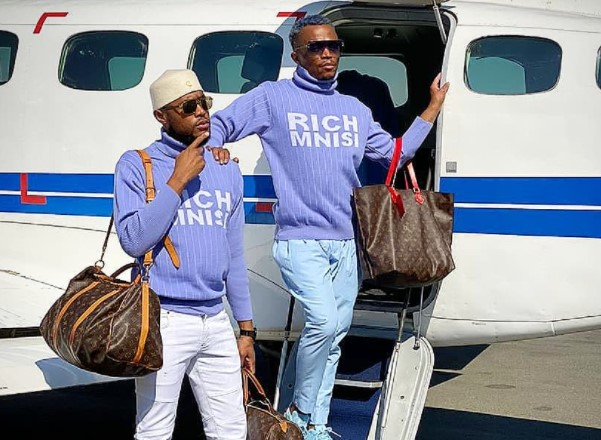 Somizi and Mohale Motaung