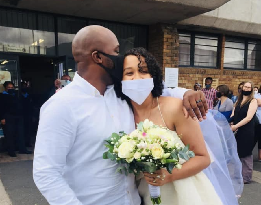 GALLERY: Couple applauded for spending R70 at Home Affairs on their wedding