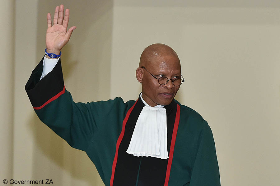 Chief Justice Mogoeng